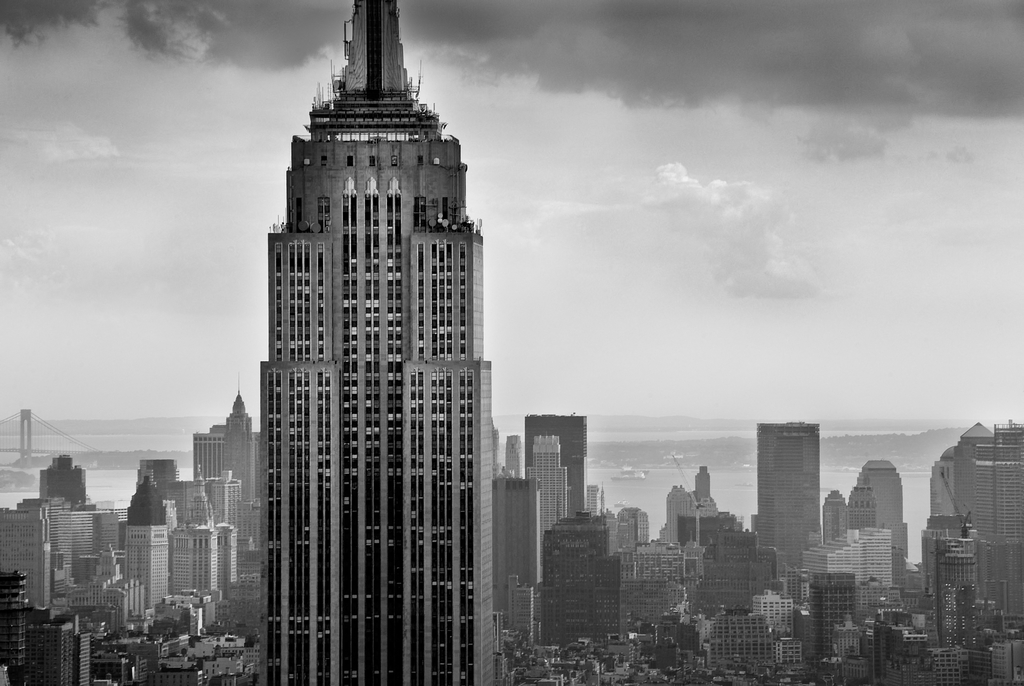 Empire State Building by Peter Adams