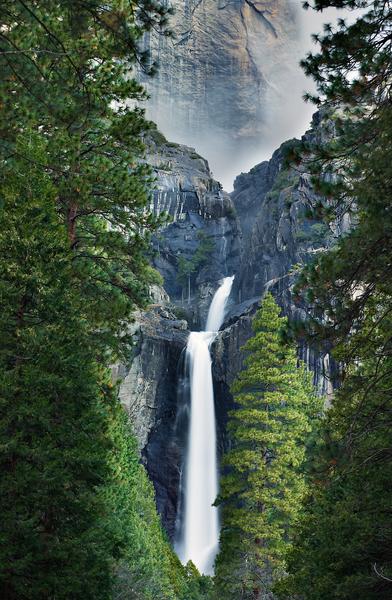 Yosemite Falls by Peter Adams.