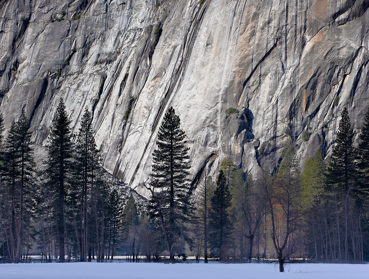 Granite, Yosemite National Park, California.