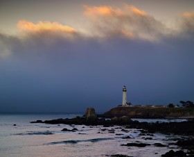 Pigeon Point Sunset II by Peter Adams.