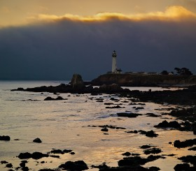Pigeon point Lighthouse by Peter Adams.