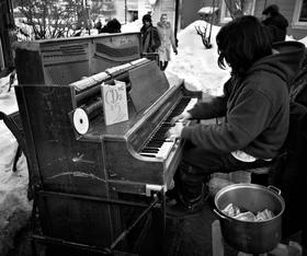 Piano Plaper by Peter Adams.