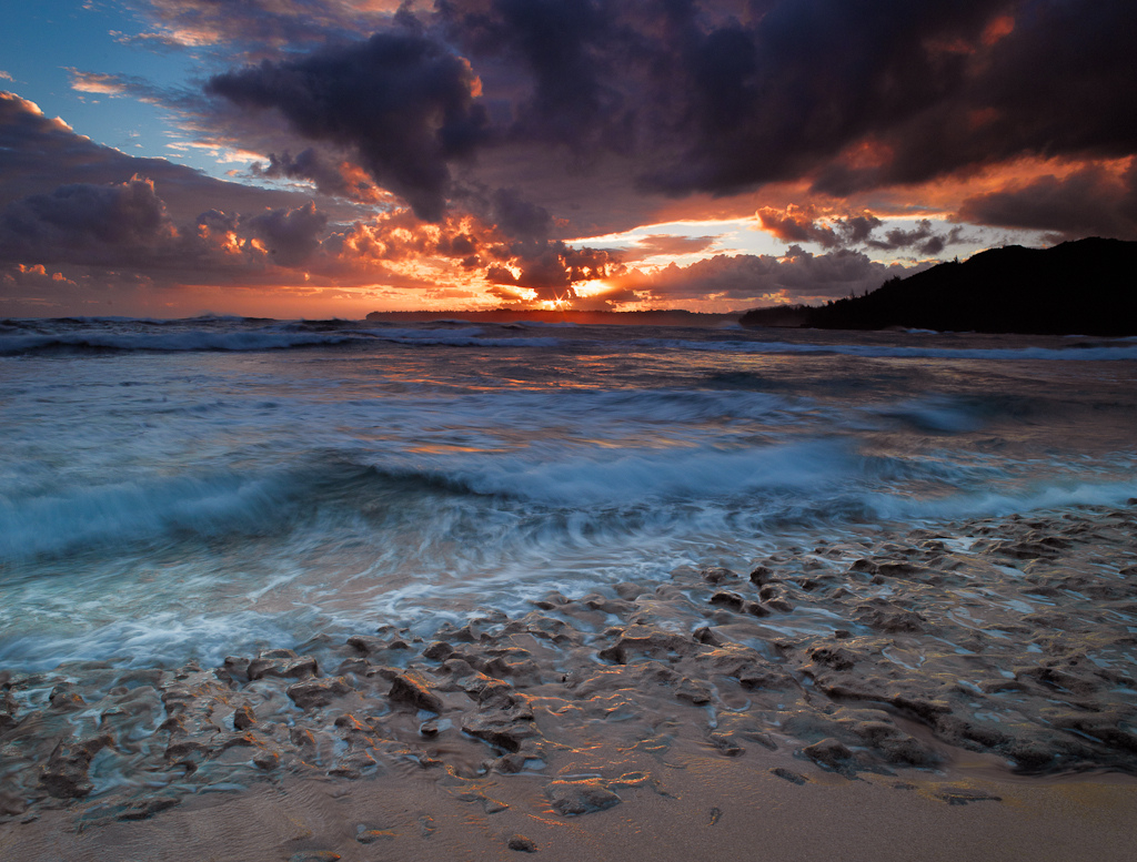 Kauai Sunrise by Peter Adams
