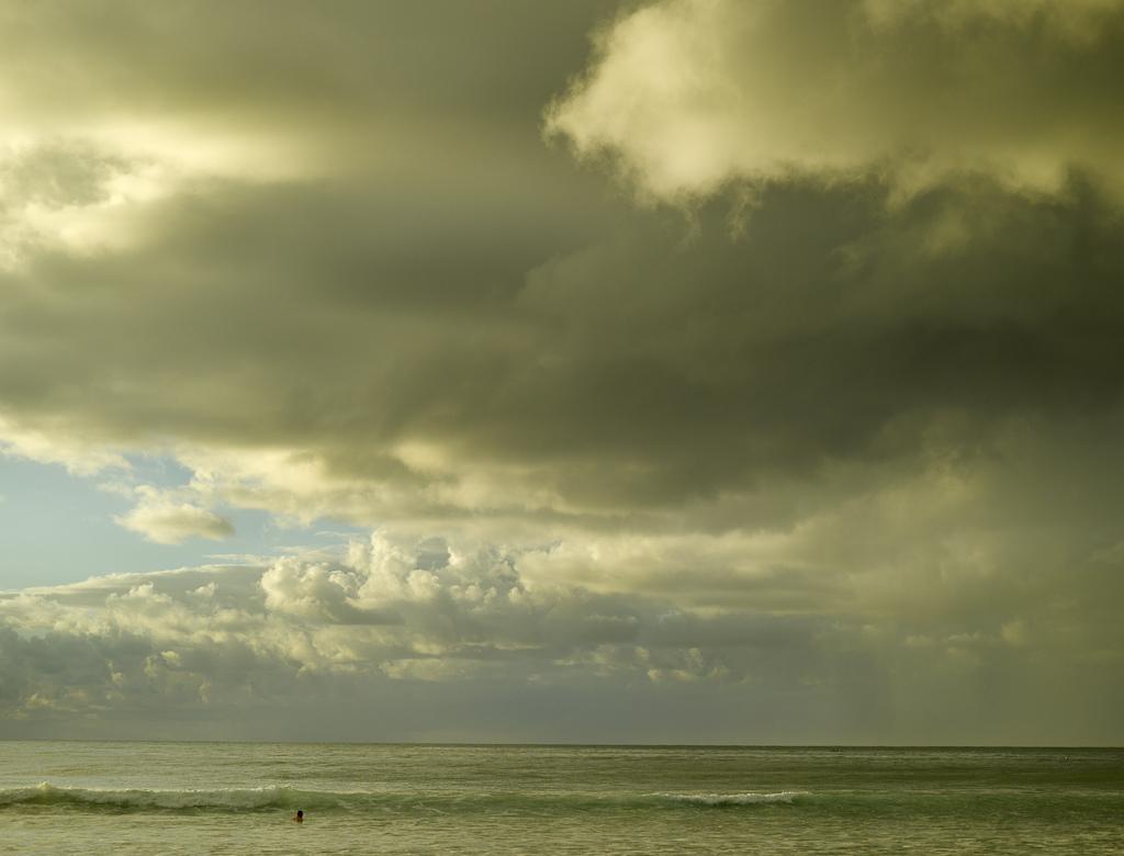 Sunset Storm by Peter Adams.