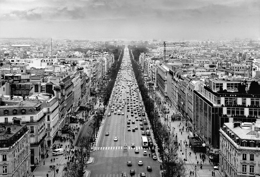 Champs-Élysées by Peter Adams