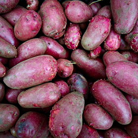 Red Potatos by Peter Adams.