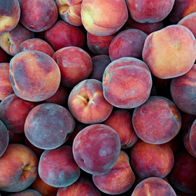 Peaches by Peter Adams.