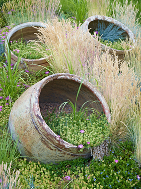 Planters by Peter Adams.