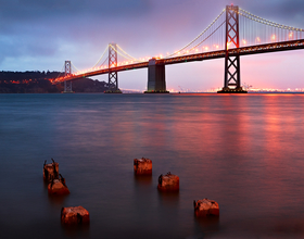 Bay Bridge by Peter Adams.