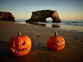 Halloween at natural Bridges by Peter Adams. All Rights reserved.