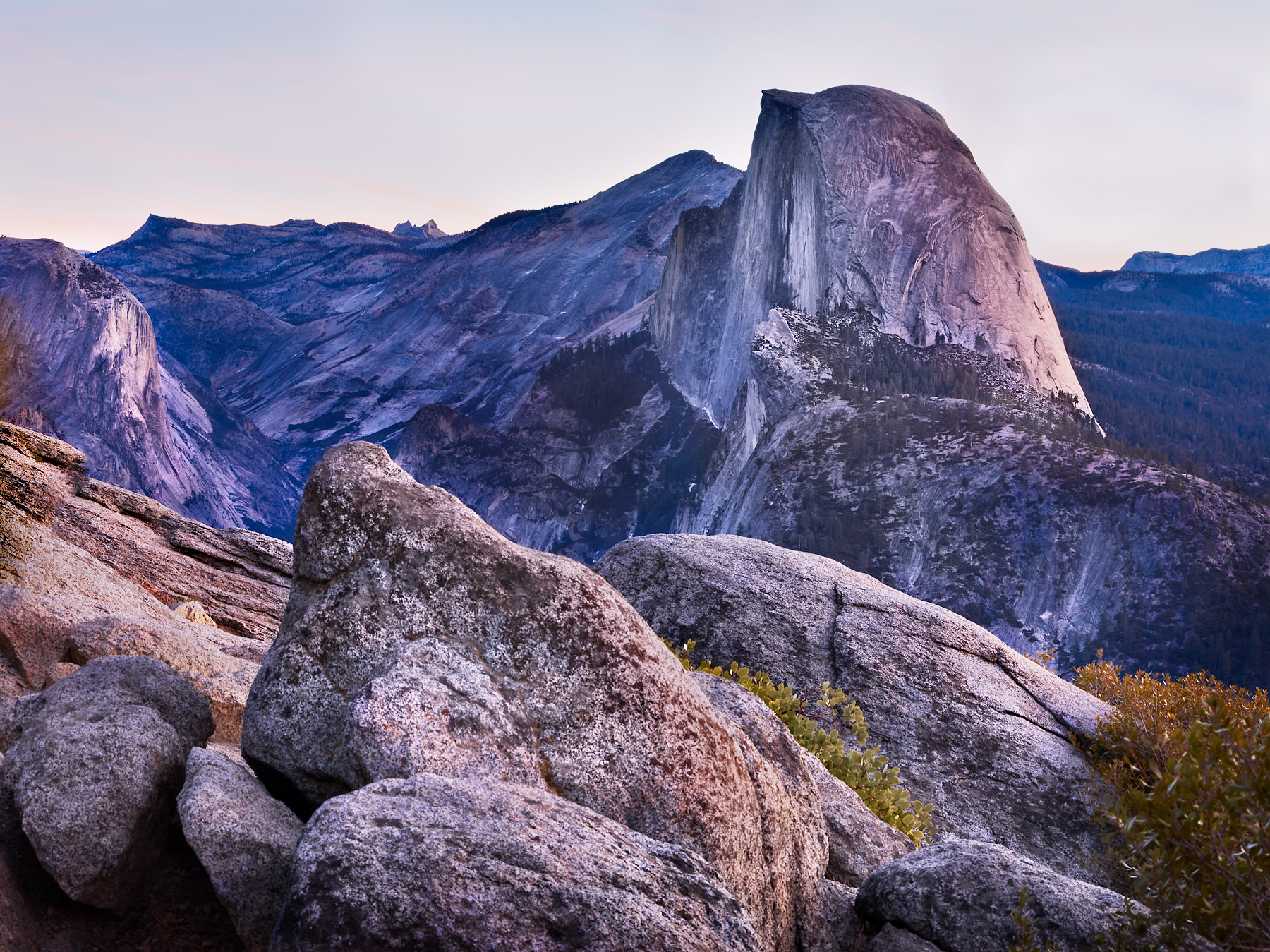 Glacier Point by Peter Adams.