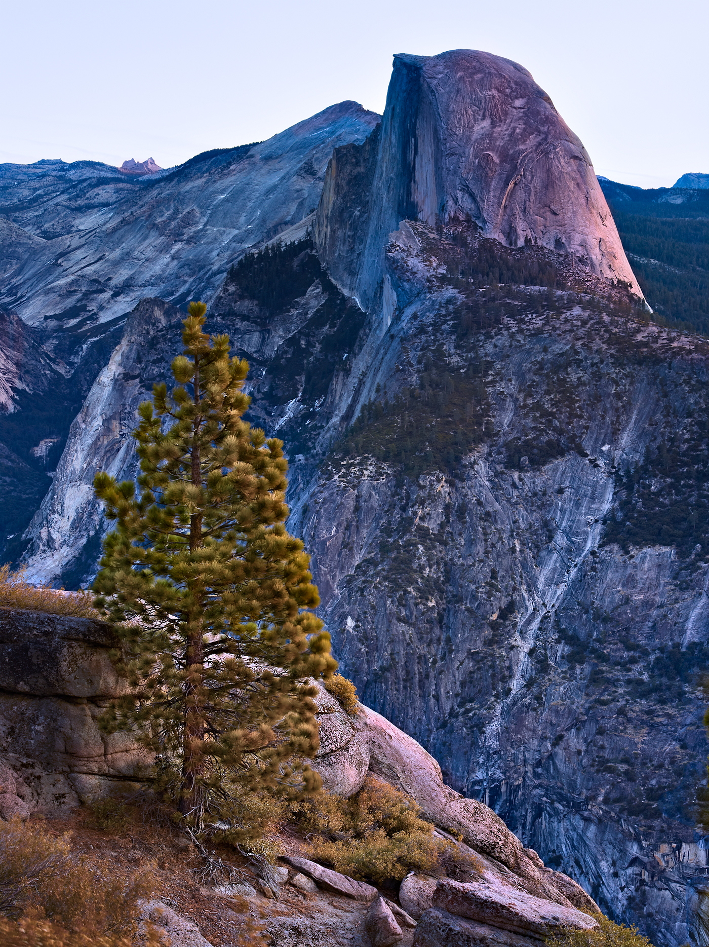 Half Dome Dawn by Peter Adams.