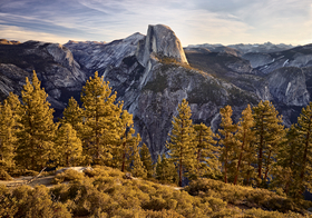 Half Dome by Peter Adams.