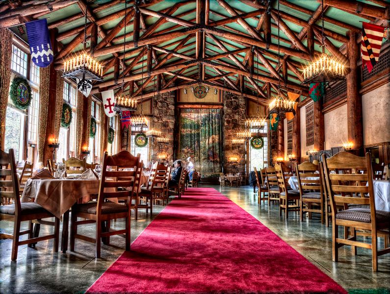 Ahwahnee Dining Room by Peter Adams.