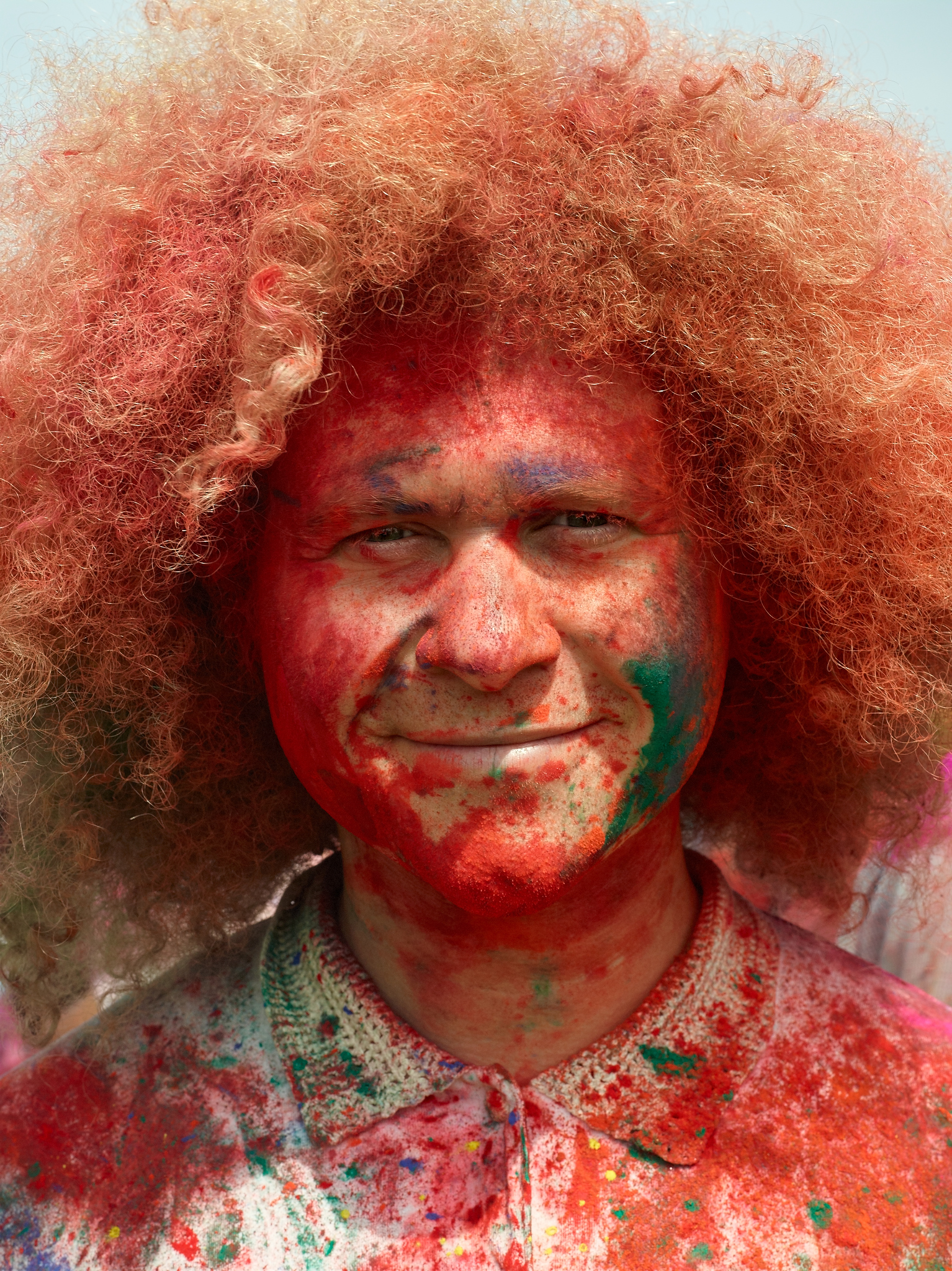 Asha Holi Festival of Colors by Peter Adams.