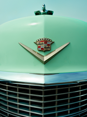 Cadillac Hood Orniment by Peter Adams.