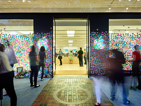 Steve Jobs Post-it Note Memorial