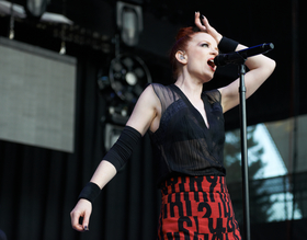 Shirley Manson / Garbage by Peter Adams.