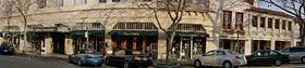 Downtown Palo Alto by Peter Adams.