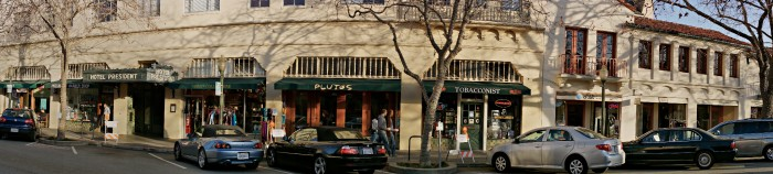 Downtown Palo Alto by Peter Adams.