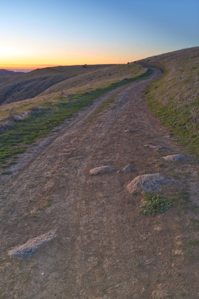 Path To Russian Ridge by Peter Adams.