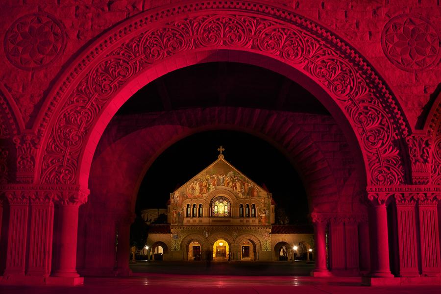 Stanford Memorial Church by Peter Adams.