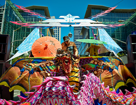 Babylon During Krewe by Peter Adams.