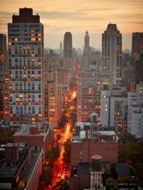 New York Apartment Buildings by Peter Adams.