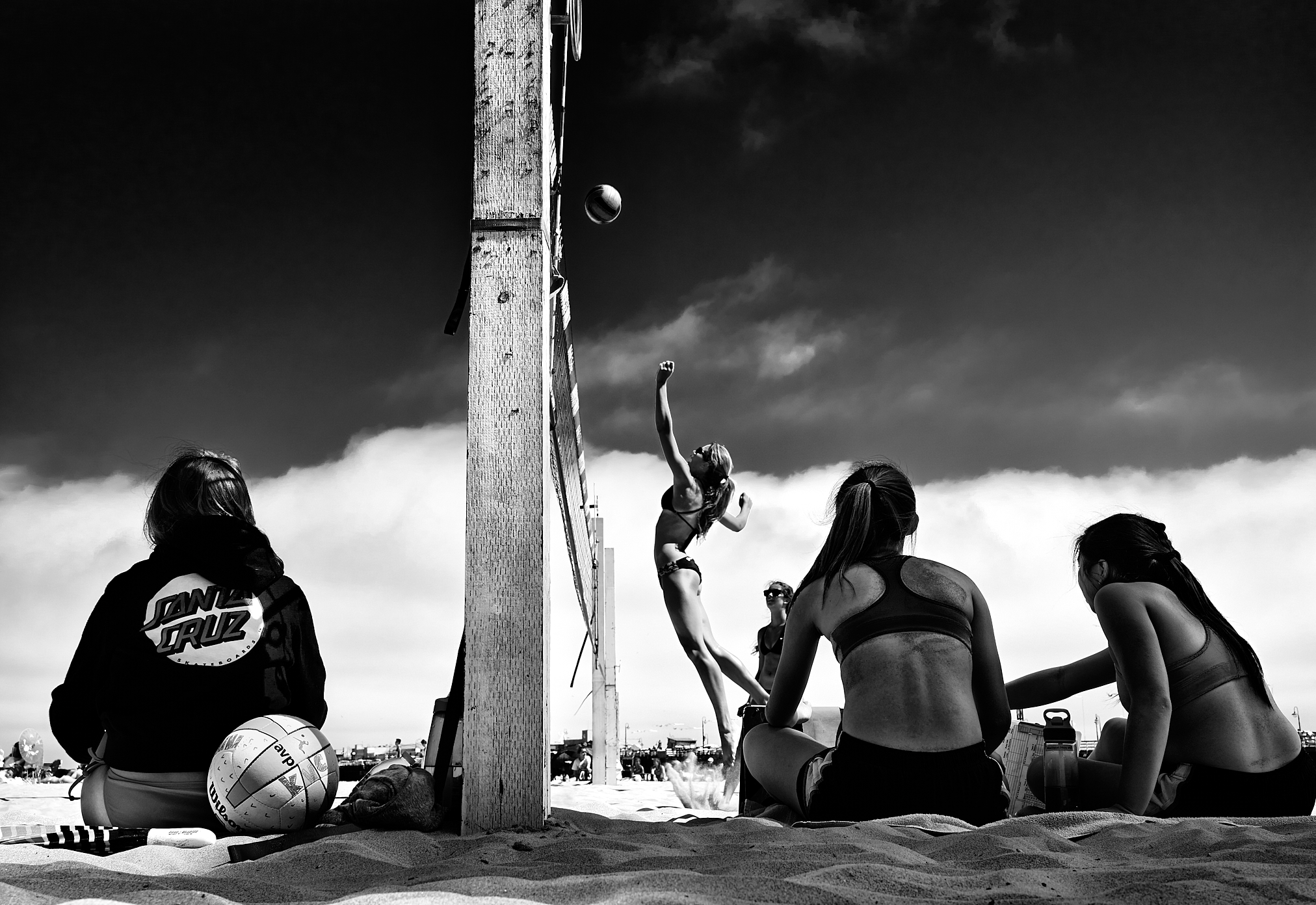Beach Volleyball by Peter Adams.