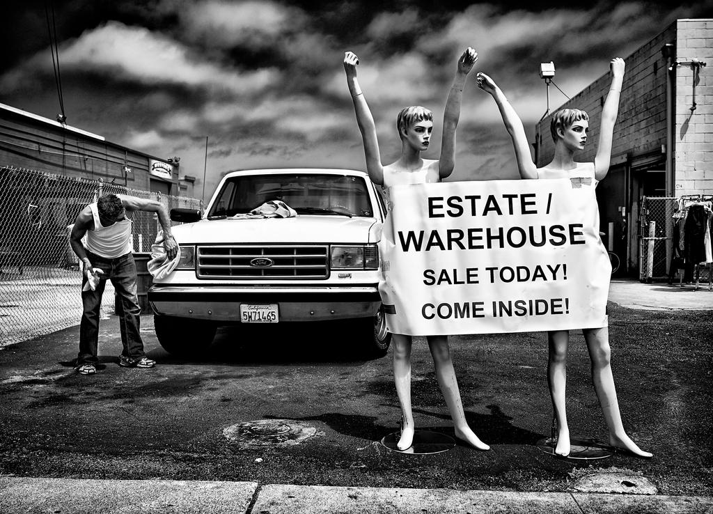 Estate Sale by Peter Adams.