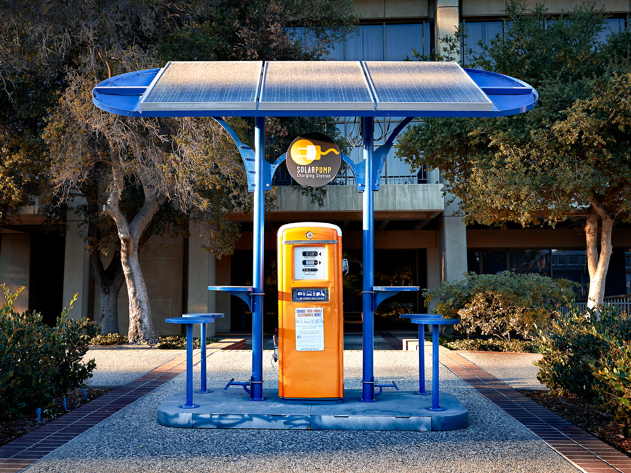 Solar Pump by Peter Adams.