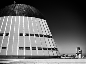 Hangar One by Peter Adams.