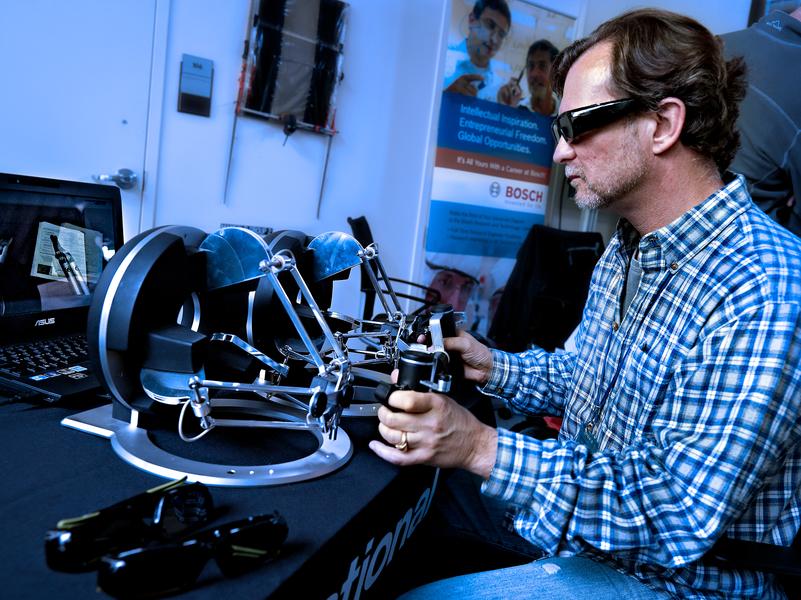 Taurus dexterous telemanipulation robot by Peter Adams