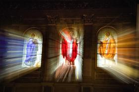 Santa Maria in Trastevere by Peter Adams.