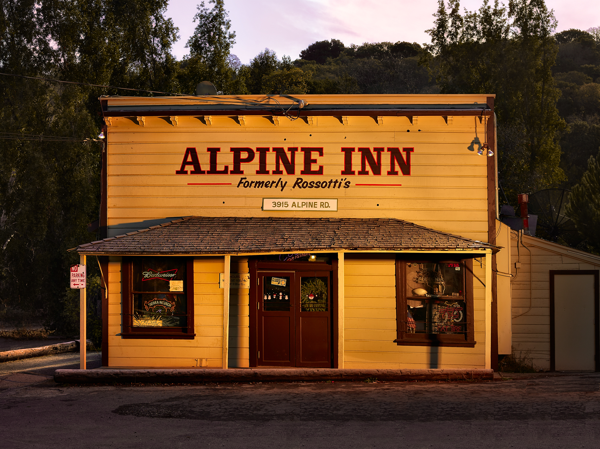The Alpine Inn by Peter Adams.