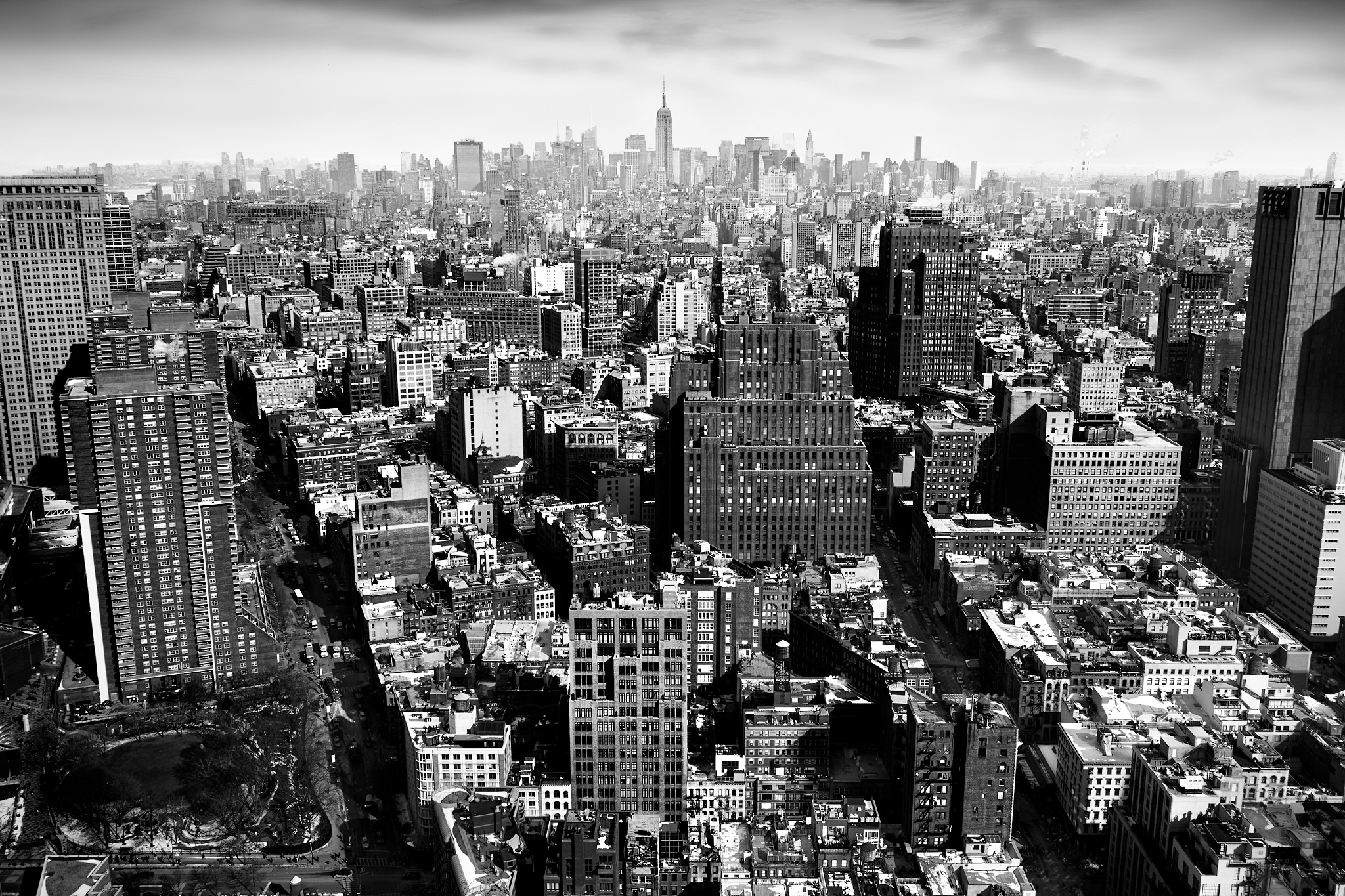 Manhattan by Peter Adams.