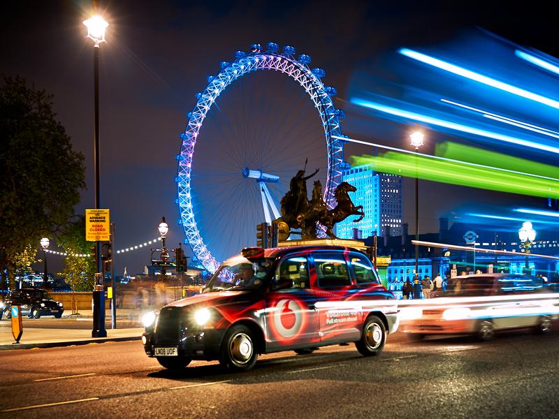 London Cab by Peter Adams.