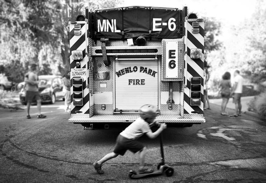Fire Engine E-6 by Peter Adams.