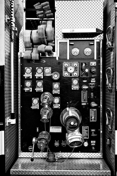 Fire Engine Guages by Peter Adams.