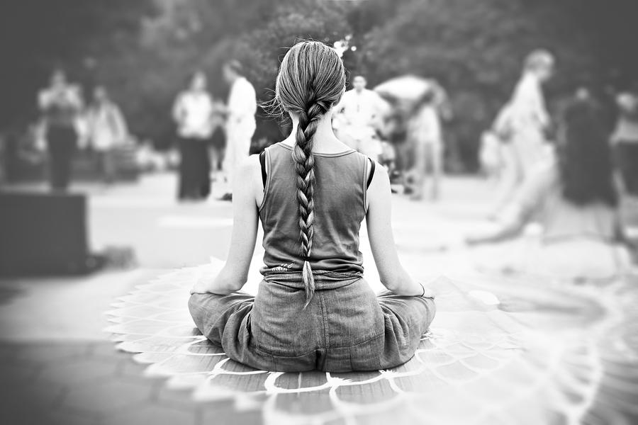 Meditation by Peter Adams.