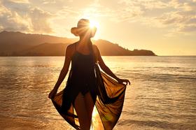 Sun Dress by Peter Adams.