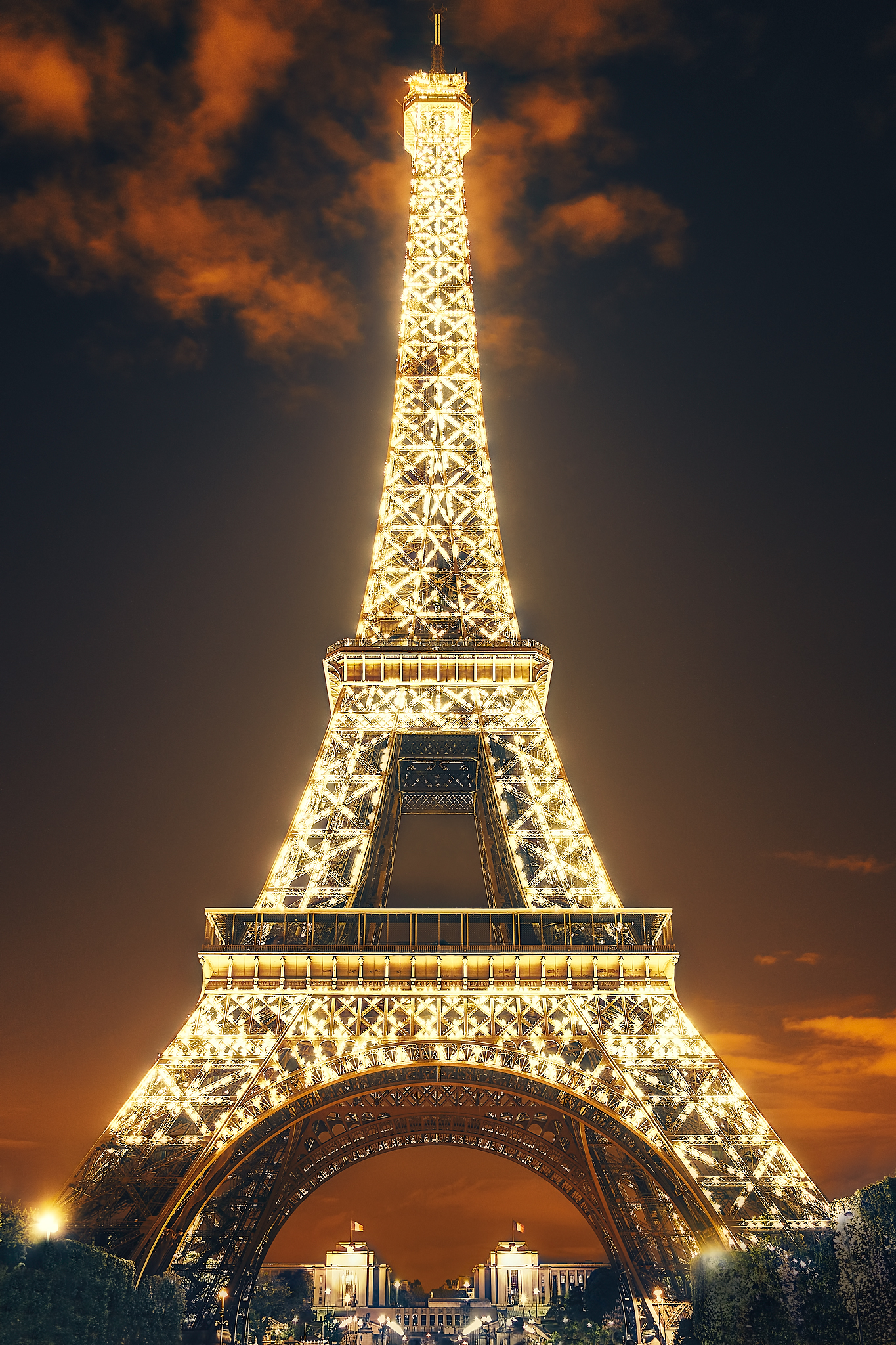 Eiffel Tower Sparkle by Peter Adams.