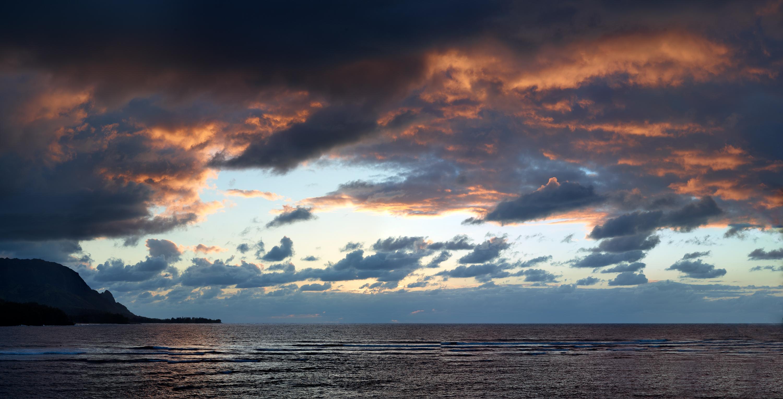 Kauai Sunset by Peter Adams.