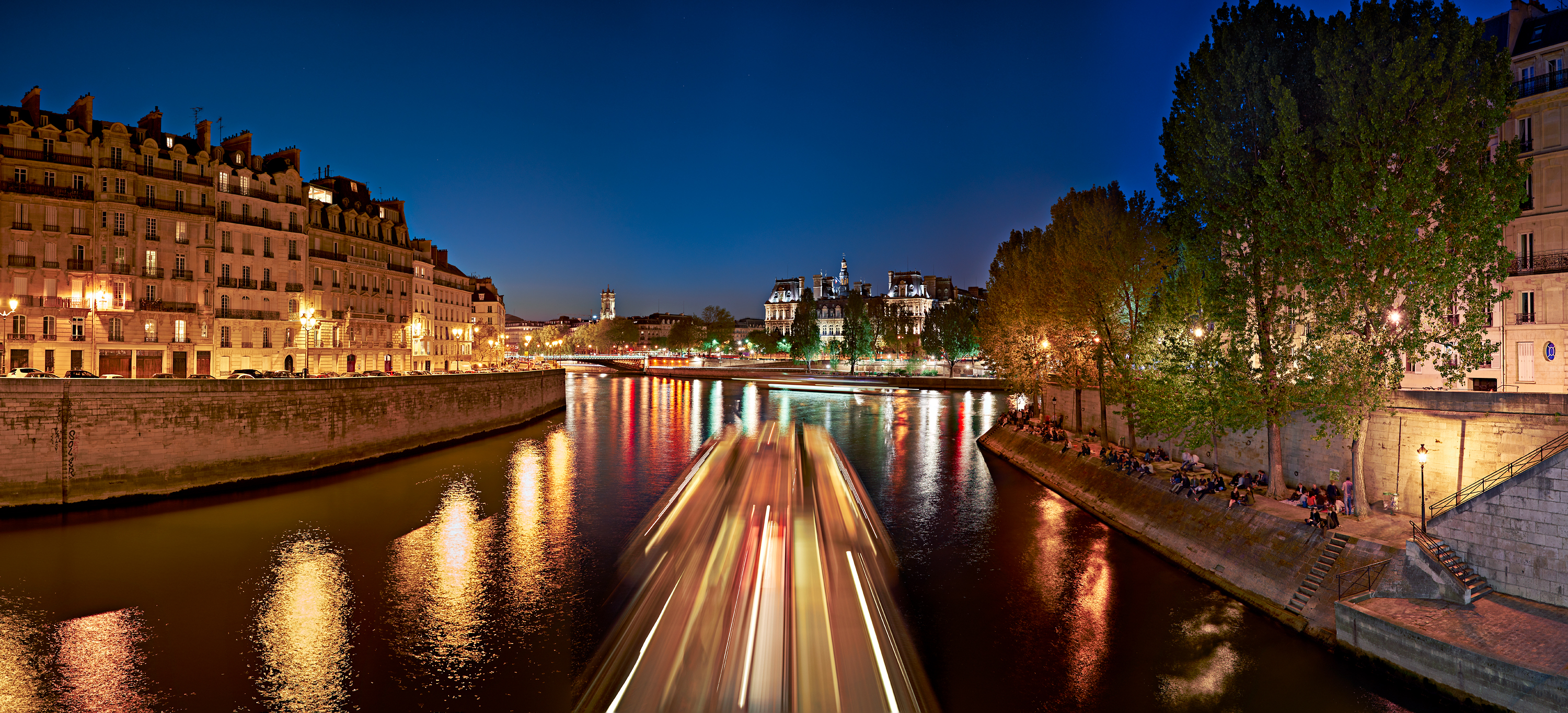 La Seine by Copyright Peter Adams Photography..