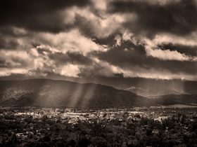 Ojai Storm Clearing II by Peter Adams.