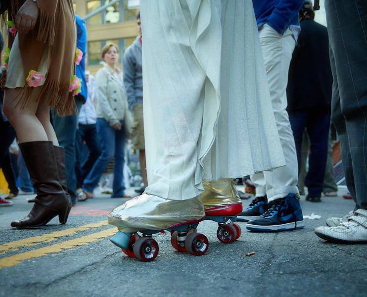 Roller Skates by Peter Adams.