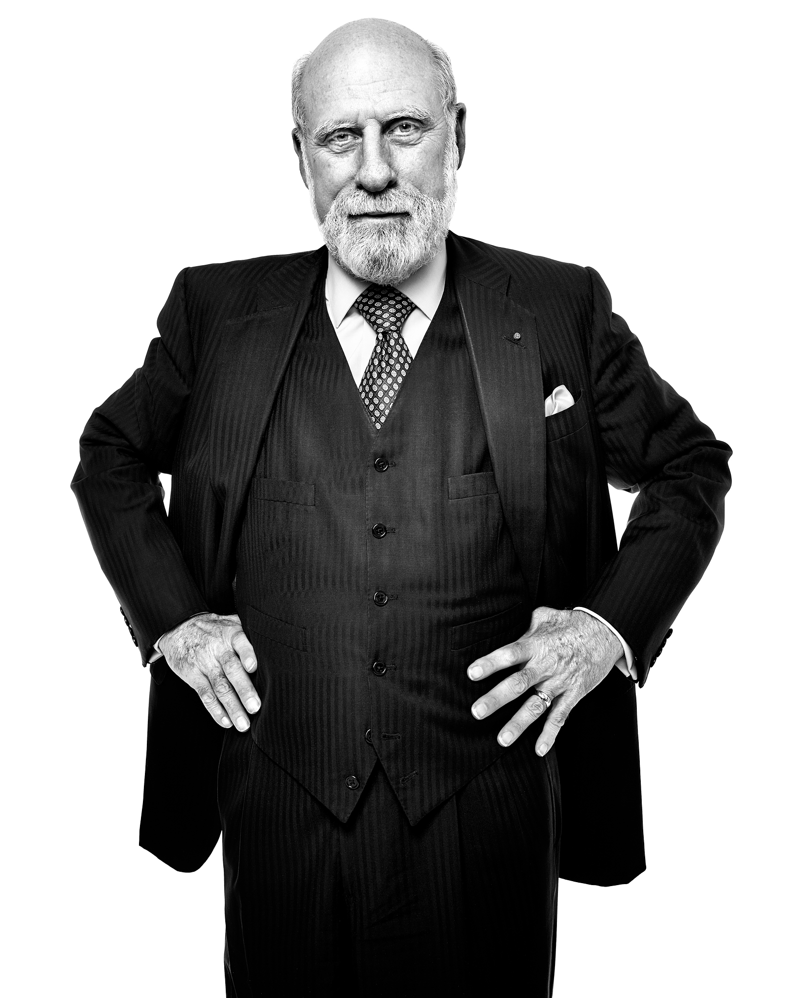 Vint Cerf by Peter Adams.