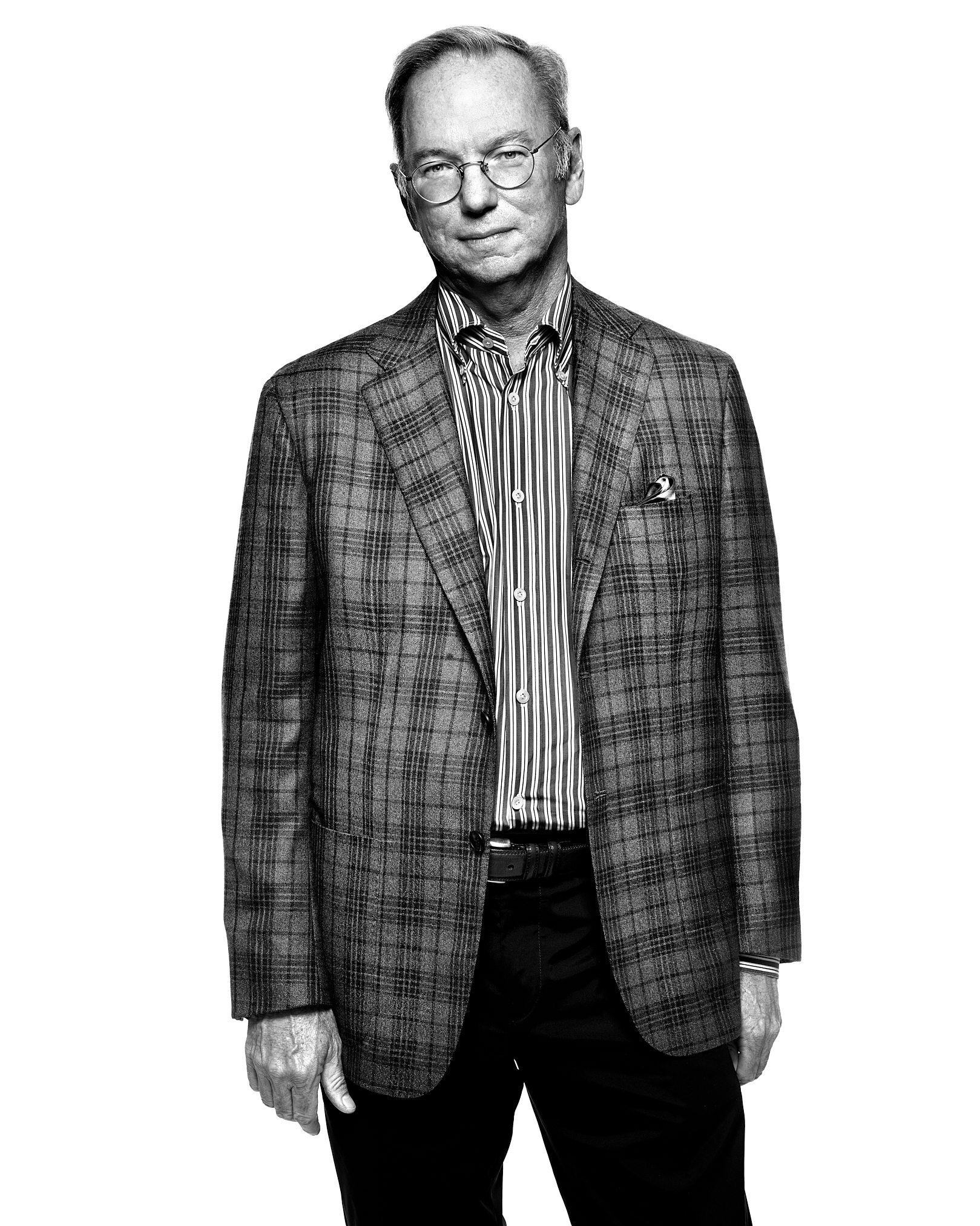 Eric Schmidt by Peter Adams.