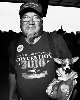 Albuquerque Trump Rally by Peter Adams.