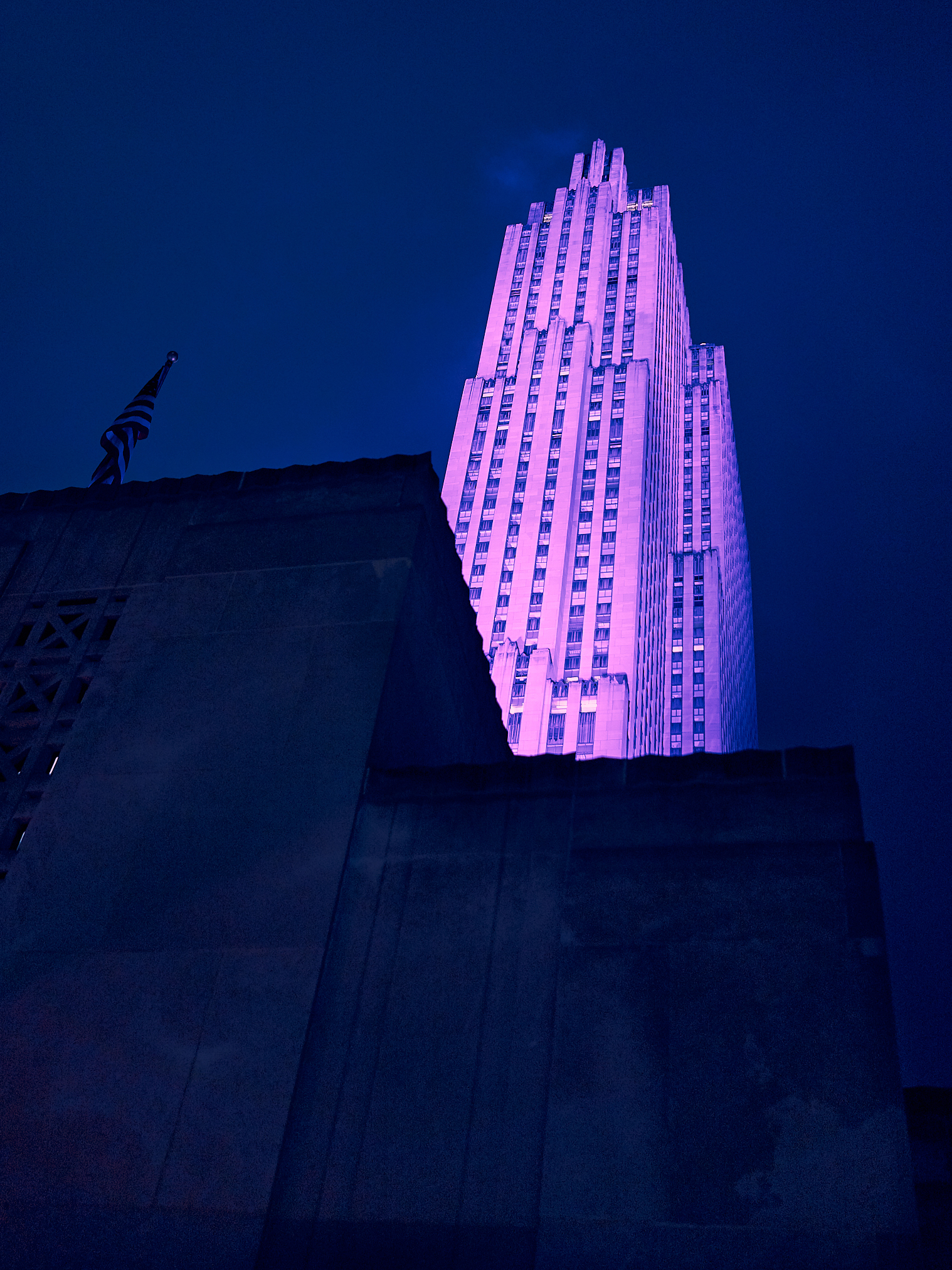 Rockefeller Center Lights by Peter Adams.